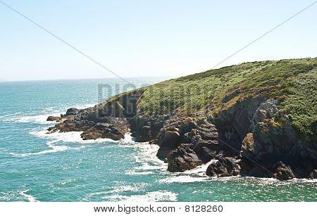 Porth Clais Coastline