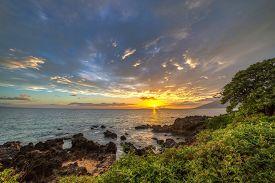 Kamaole Beach Sunset