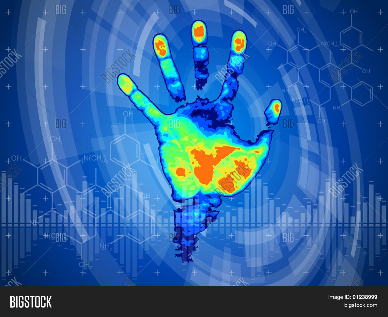 Technology Background Vector Photo Free Trial Bigstock