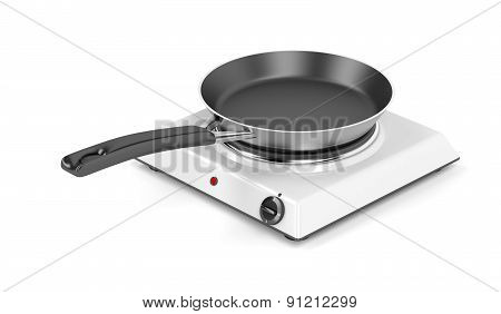 Hot Plate And Frying Pan