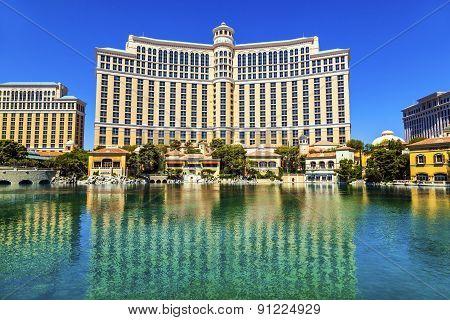 Luxury Hotel Bellagio In Las Vegas