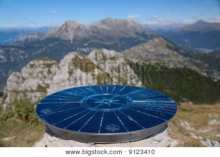 Viewpoint on the top of Monte Resegone