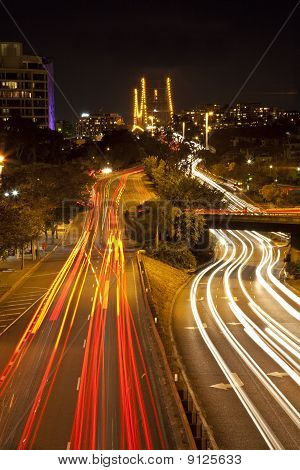 City of Brisbane at night