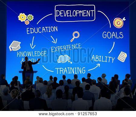 Development Improvement Upgrade Change Concept