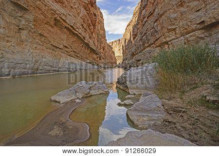 Deep In A Desert Canyon