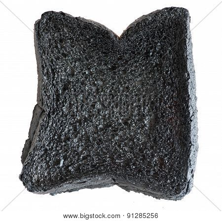 Loaf Of Burnt Bread