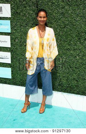 0LOS ANGELES - MAY 16:  Joy Bryant at the Super Saturday LA at the Barker Hanger on May 16, 2015 in Santa Monica, CA