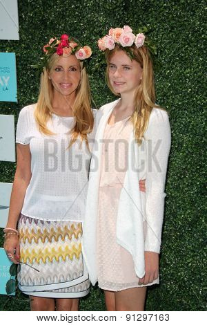 0LOS ANGELES - MAY 16:  Camille Grammer, daughter at the Super Saturday LA at the Barker Hanger on May 16, 2015 in Santa Monica, CA