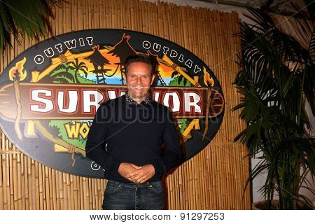 LOS ANGELES - MAY 20:  Mark Burnett at the Survivor Season 30 Finale at the CBS Radford on May 20, 2015 in Studio City, CA