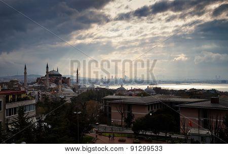 Istanbul Cityscape.