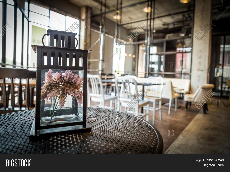 Beautiful Coffee Shop Image Photo Free Trial Bigstock