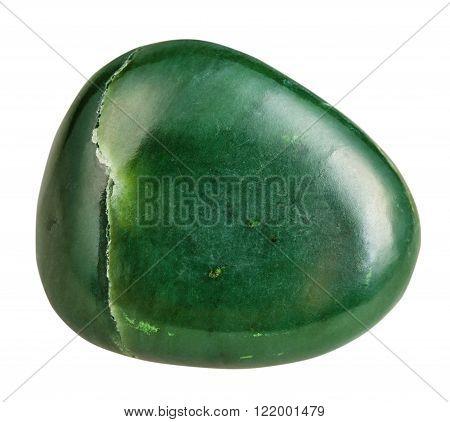 Tumbled Green Nephrite (jade) Mineral Gemstone