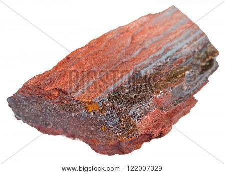 Piece Of Itabirite Stone Isolated
