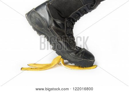 Step On A Banana Peel