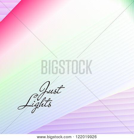gradient lights vector