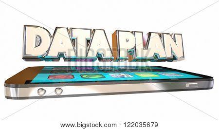 Data Plan Cell Smart Mobile Phone Service Provider