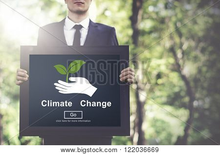 Climate Change Prolem Conservation Ecology Concept