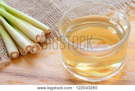 Thai Herbal Drinks, Lemon Grass Water