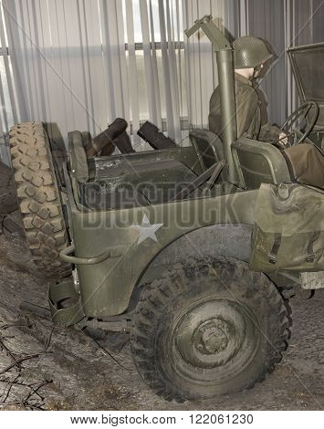 MOSCOW RUSSIA- DECEMBER 16- MB- four-wheel drive vehicle