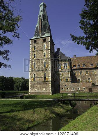 the nice Castle of raesfeld in germany