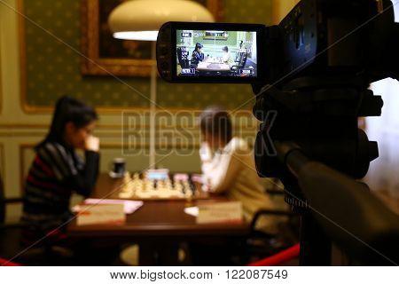 Fide Women's World Chess Championship Match Mariya Muzychuk Vs Hou Yifan