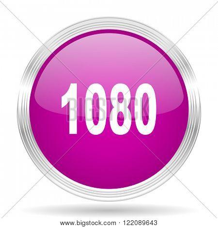 1080 pink modern web design glossy circle icon