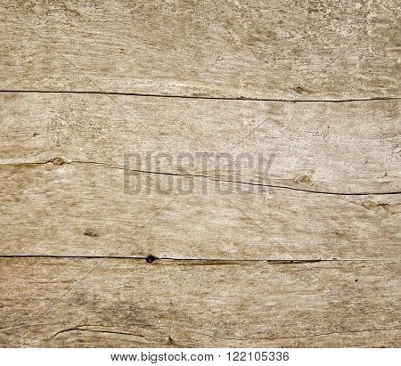 Grunge wood texture. Pattern of old weathered timbered wall