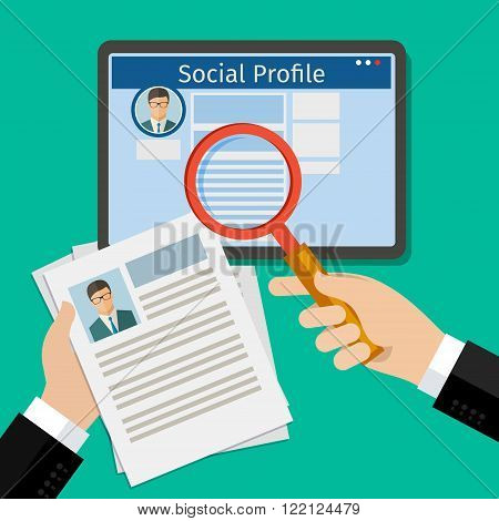 Search Social Profile