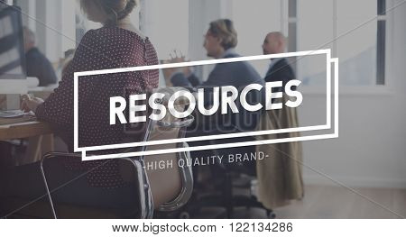Resources Context Employee Hiring Management Concept