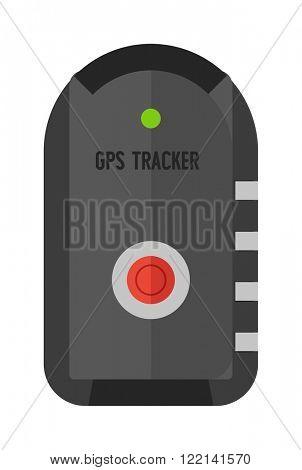 Cartoon car alarm security lock key and auto safety car alarm system vector. Car remote control alarm micro hidden camera keychain flat vector illustration.