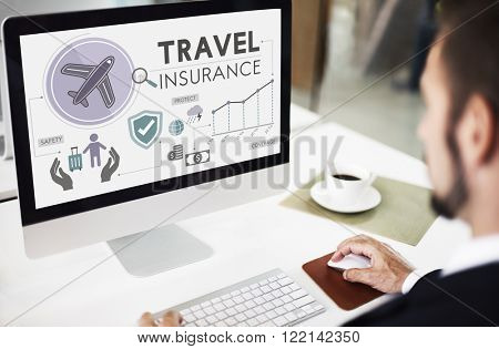 Travel Insurance Destination Tourism Vacation Concept