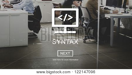Syntax Program Internet Programming Coding Data Concept