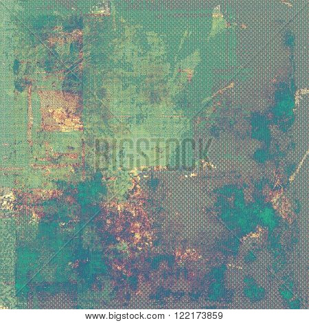 Old crumpled grunge background or ancient texture. With different color patterns: brown; green; blue; purple (violet); gray