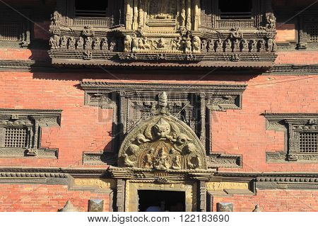 Patan Durbar Square. It is one of the three Durbar Squares in the Kathmandu Valley