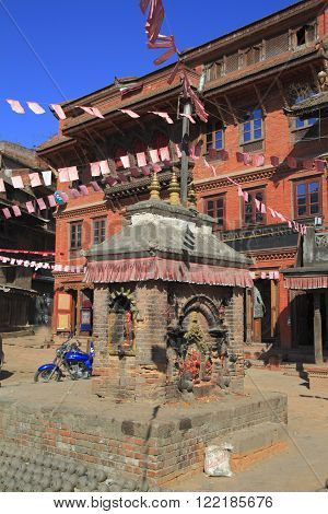 Bhaktapur Durbar Square is one of three Durbar Squares in the Kathmandu Valley in Nepal