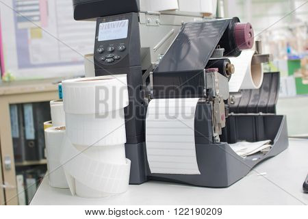 The bar code label printer,Equipment for Business
