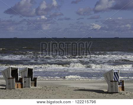 the Island of wangerooge in the german North sea