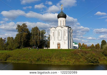 Church of the Intercession of the Holy Virgin on the Nerl River Bogolubovo Russia