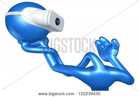 Virtual Reality VR Alas Poor Yorick