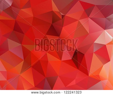 Abstract polygonal background, vector illustration, geometric background