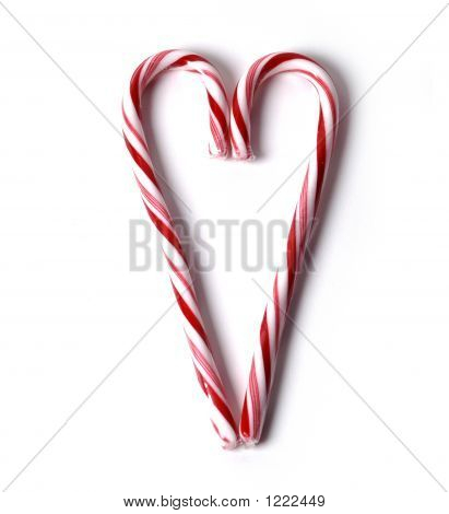 Food - Candy Cane Heart