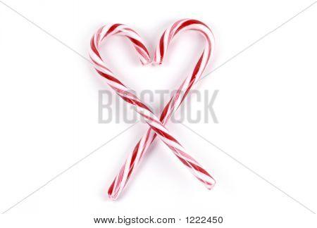 Essen Candy Cane Herzen