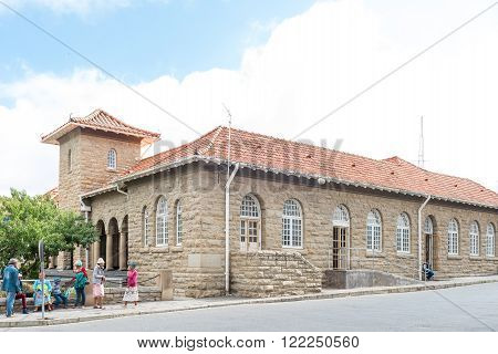 CRADOCK SOUTH AFRICA - FEBRUARY 19 2016: The Magistrates Court in Cradock a medium sized town in the Eastern Cape Province