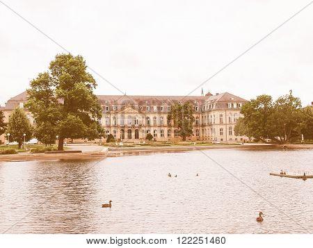 Gardens In Stuttgart Germany Vintage