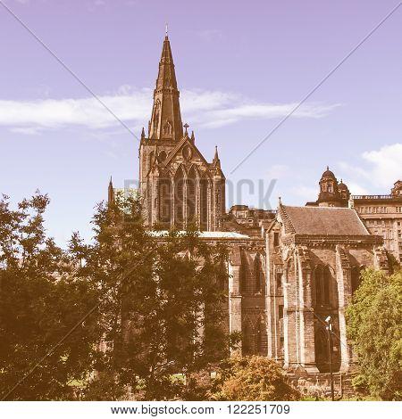 Glasgow Cathedral Vintage