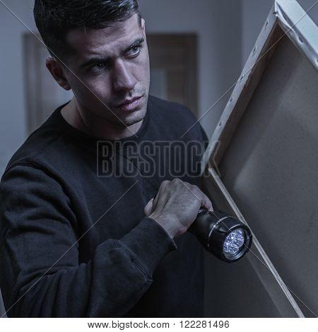 Burglar And His Loot