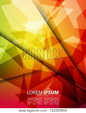 abstract multicolored background design vector eps10