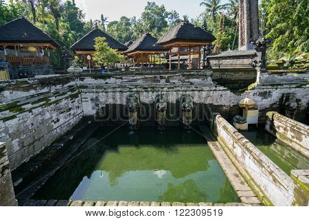 The ancient temple of Pura Gua Gajah in Bali Island, Indonesia.