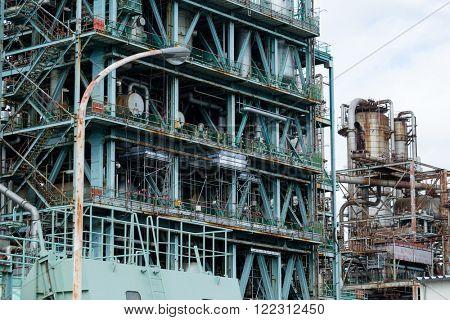 Industrial scene