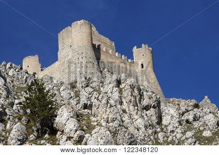 A Castle in the sky - The Lady Hawk Castle Rocca Calascio - Aquila - Italy